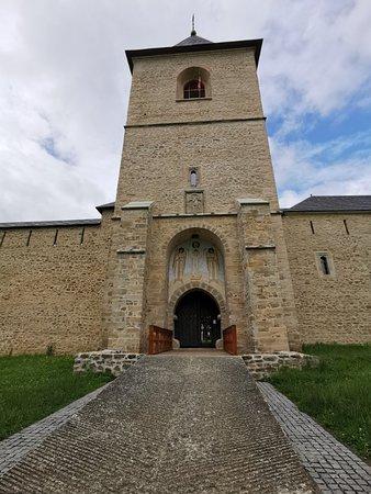 European Historical Monastery In Beautiful Countryside