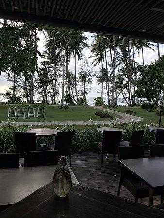 Beautiful ocean front hotel