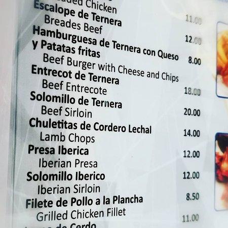 Benalmadena, Spain: Buenas carnes