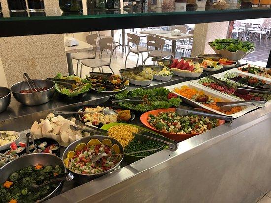 Cruzeiro, DF: Estação de saladas
