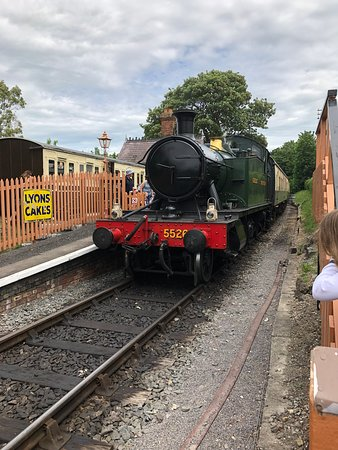 Great fun and value railway