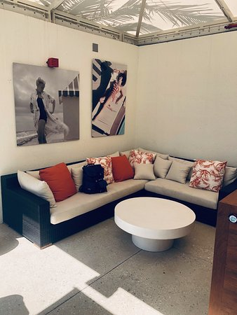 The Dalmar, Fort Lauderdale, a Tribute Portfolio Hotel: We loved having a poolside cabana for the day