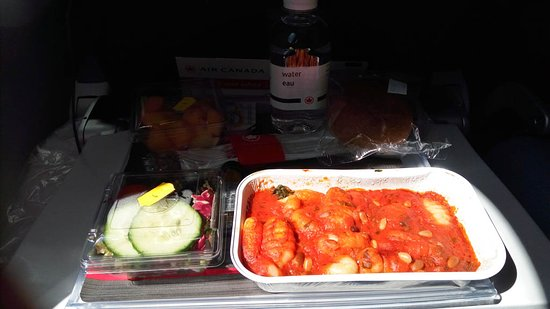 Air Canada: the food