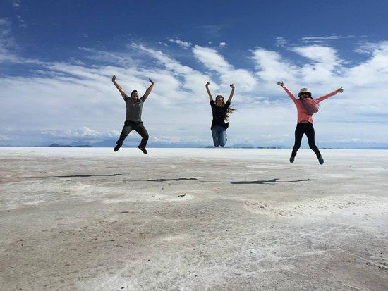 Tambien los llevamos a Uyuni, Maravilla natural en Bolivia.