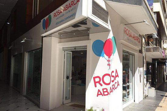 Calzado infantil Rosa Abarca