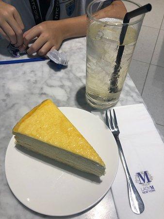 Crepe cake so good!
