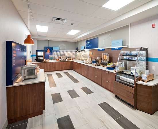 Holiday Inn Express Red Deer North: Restaurant