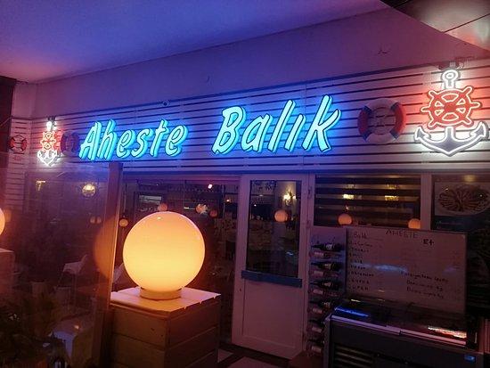 Aheste Et & Balik: Aheste Et ve Balık Restaurant