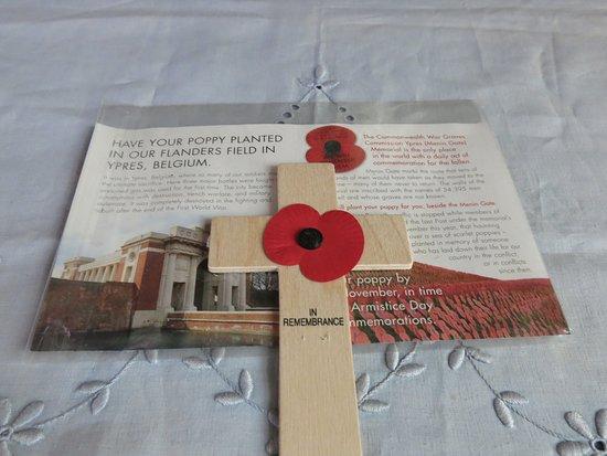St. Peter's Church: in honour of...
