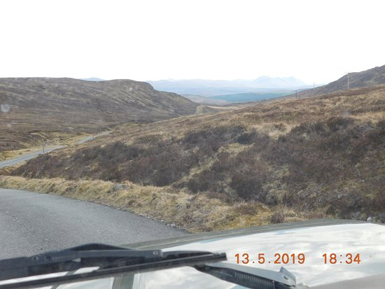 View from the Land Rover