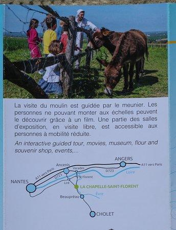La Chapelle-Saint-Florent, Francja: Le flyer du moulin de l'Epinay