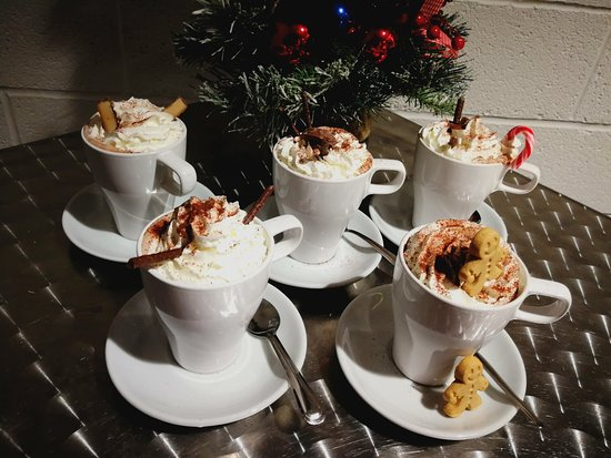 Compass Wellbeing Cafe: The best Hot Chocolate in town....or so we're told!