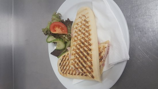 Compass Wellbeing Cafe: Choose from numerous fillings for your perfect Panini, Sandwich or Baguette