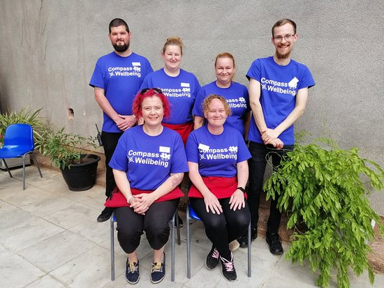 Compass Wellbeing Cafe: Our friendly team are always on hand to ensure that you have the best time possible.