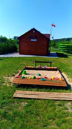 Czerwonak, Polonia: Piaskownica dla dzieci
