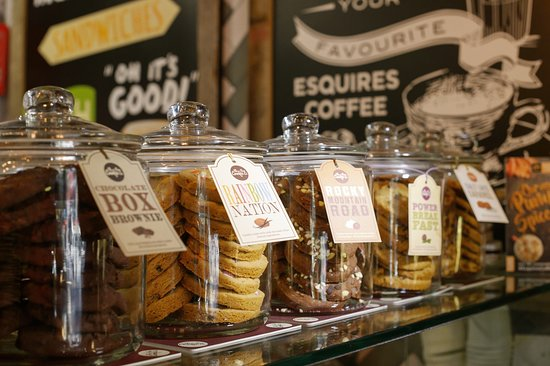 selections of delicious treats