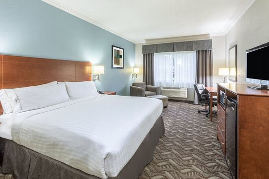 Holiday Inn Express Hotel & Suites Lake Charles: Guest room