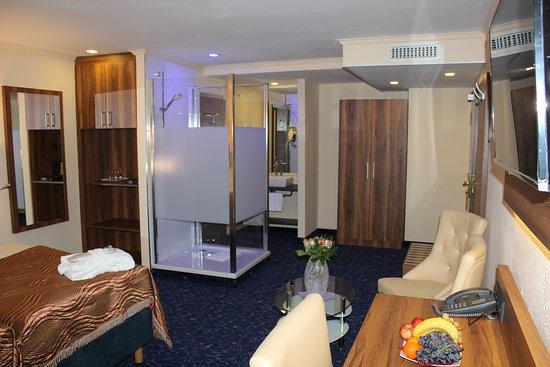 Grand Hotel Empire Frankfurt: Guest room