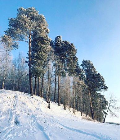 Langepas, Russia: Очень редкое явление в городе-горки)