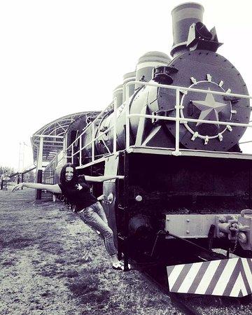 Langepas, Russia: Местный паровозик