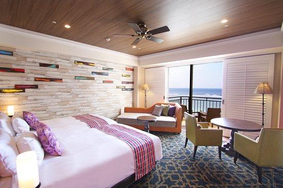 Hotel Nikko Alivila Yomitan Resort Okinawa: Guest room