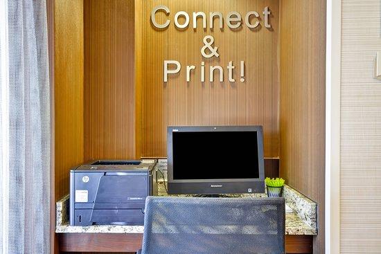 Fairfield Inn & Suites Atlanta Vinings/Galleria: Business center
