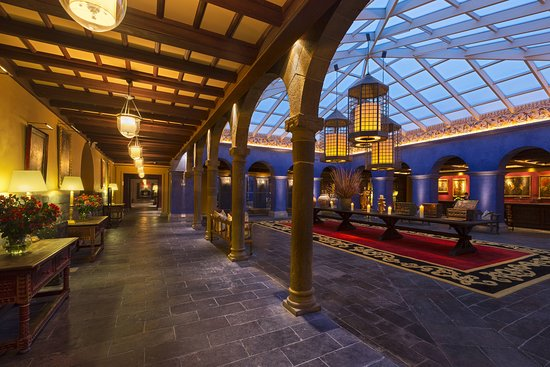 Palacio del Inka, a Luxury Collection Hotel, Cusco: Lobby