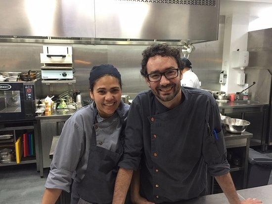 Otaka: Chef José Pereira and his wife.