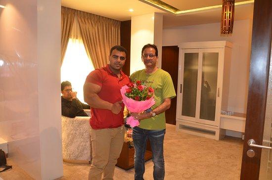 Hotel Prince Viraj: Rajiv Raja at Hotel Prince Viraj