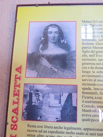 Scaletta Zanclea, Italy: Castello Rufo Ruffo