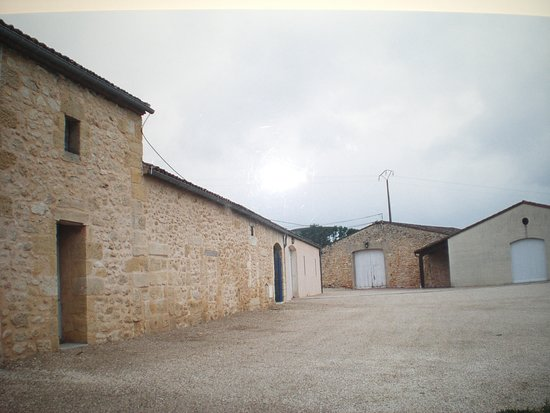 Saint-Philippe-D'Aiguille, Francja: La cour @chateauroquevieille