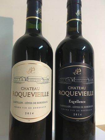 Saint-Philippe-D'Aiguille, ฝรั่งเศส: Nos vins @chateauroquevieille