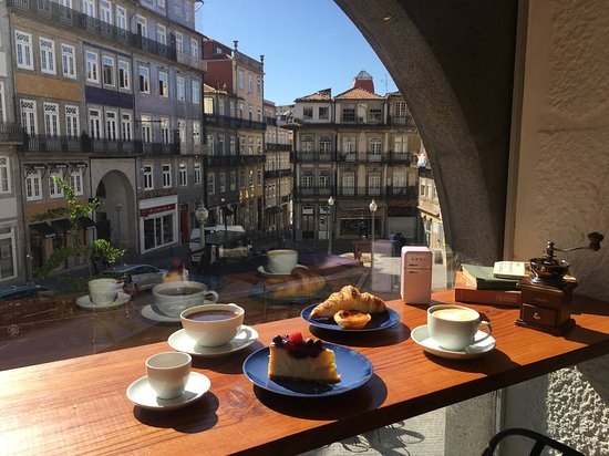 Porto, Portugal: Coffee with a view