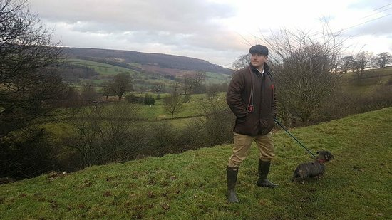 The Flying Childers Inn: Great walks and views from the pub