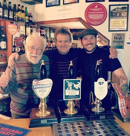 The Flying Childers Inn: Three generations of landlords behind the bar at the Childers