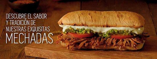 Uno de nuestros exquisitos sandwiches caseros.