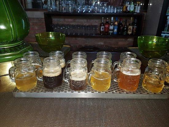 Beer tasting...