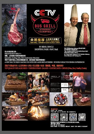 BUS GRILL STEAKHOUSE BRAND IMAGE