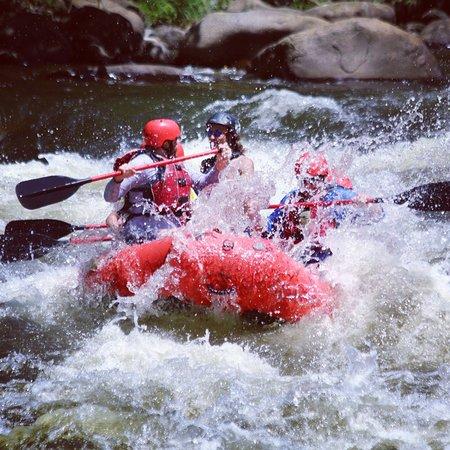 תמונה מUpper Pigeon River Rafting Trip from Hartford