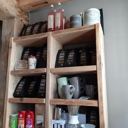 Kaffee usw. gibt´s auch im Verkauf