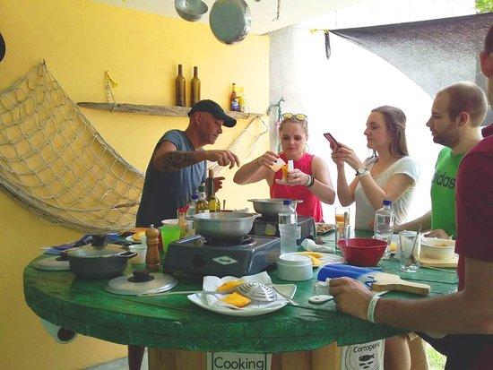 Cook in Cartagena