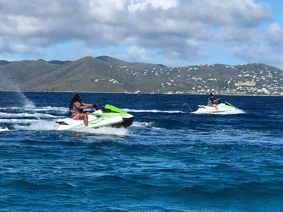 Coastal Watersports, St Thomas: Plain and Simple! We are the BEST at what we do! Just Ask Around! When we say FREESTYLE, We mean FREESTYLE. From start to Finish!
