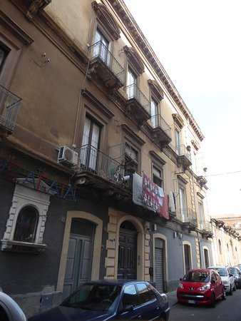 the building with the B&B Cianciana
