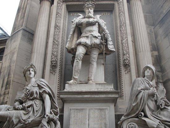Le Temple Protestant De L'Oratoire Du Louvre: Fachada