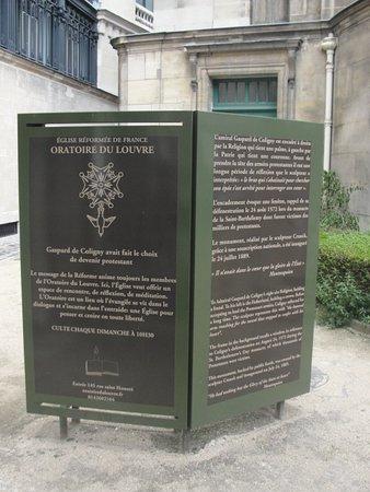Le Temple Protestant De L'Oratoire Du Louvre: Informação