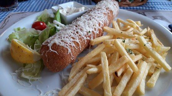 Pivnica Gusan: Must try.Karadjordje's Schnitzel