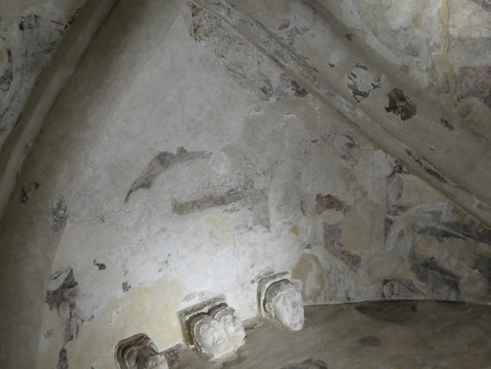 Rock of Cashel: Freskenrest