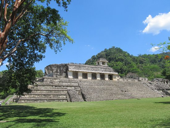 Day Trip to Agua Azul Waterfalls and Palenque from San Cristobal: Palenque ruins in Chiapas, MX