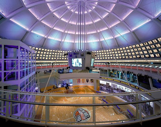 ‪Basketball Hall of Fame‬