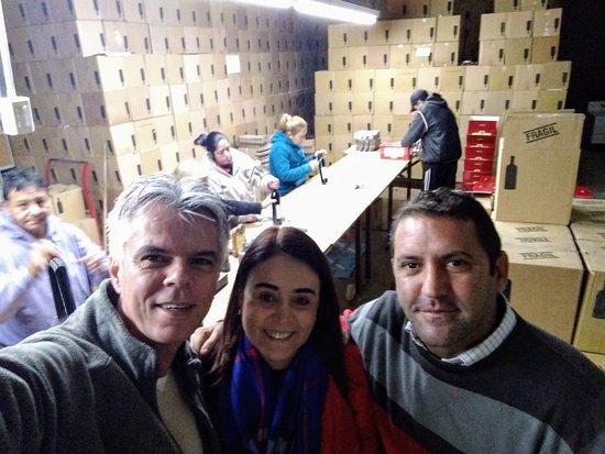 Mendoza Turista: Bodega Carmello Patti. Indicaçao imperdivel do guia Pablo.